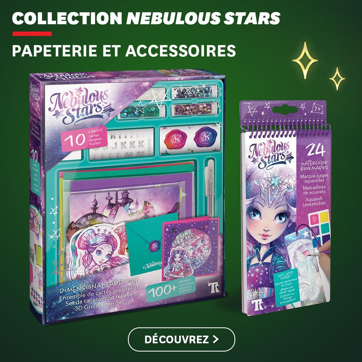 Collection Nebulous Stars : papeterie et accessoires