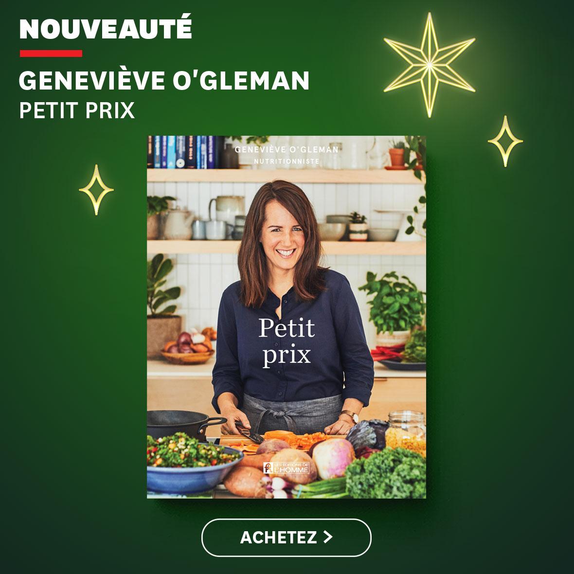 Nouveauté : Petit prix - Geneviève O'Gleman