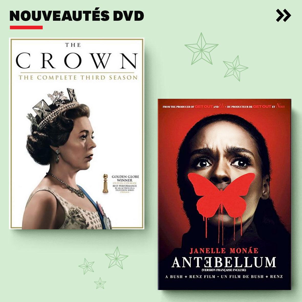 Nouveautés DVD